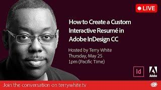 How to Create a Custom Interactive Resumé in Adobe InDesign CC