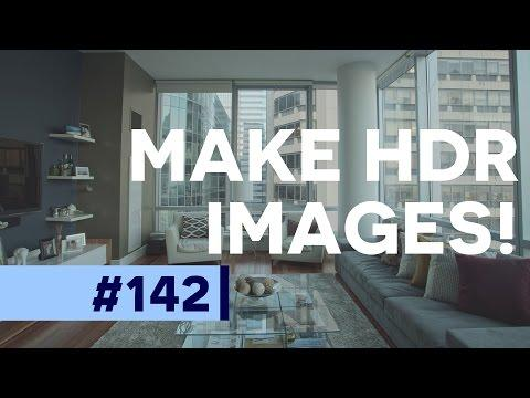 How to use Merge to HDR in Photoshop CC  | Educational