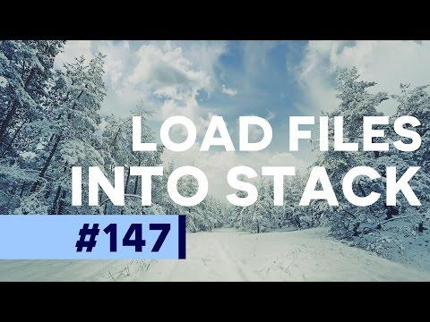 How to Load Multiple Files as Layers in Photoshop  | Educational