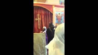 Orthodox Religious singer Tewodros Yosef in Amsterdam at Saint Gebriel Church | 2014