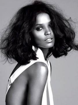 Ethiopian American Model Lia Kebede