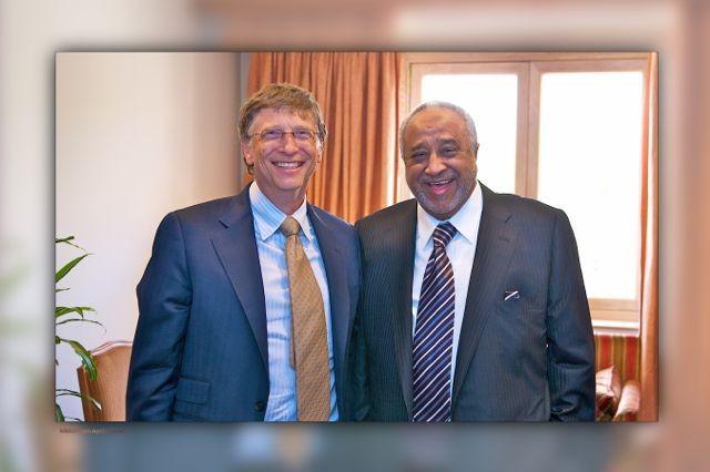 Bilgate and Sheikh Mohammed H. Al-Amoudi
