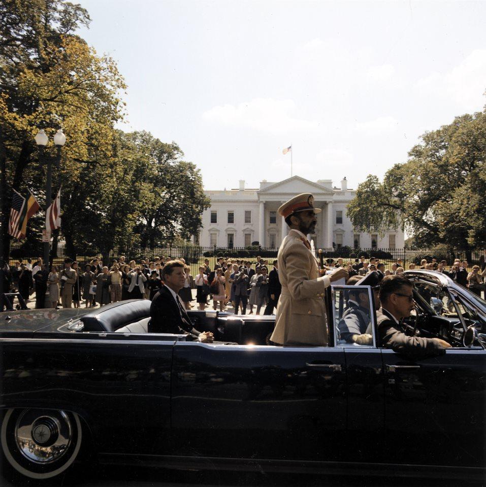 King Haile Selassie in USA