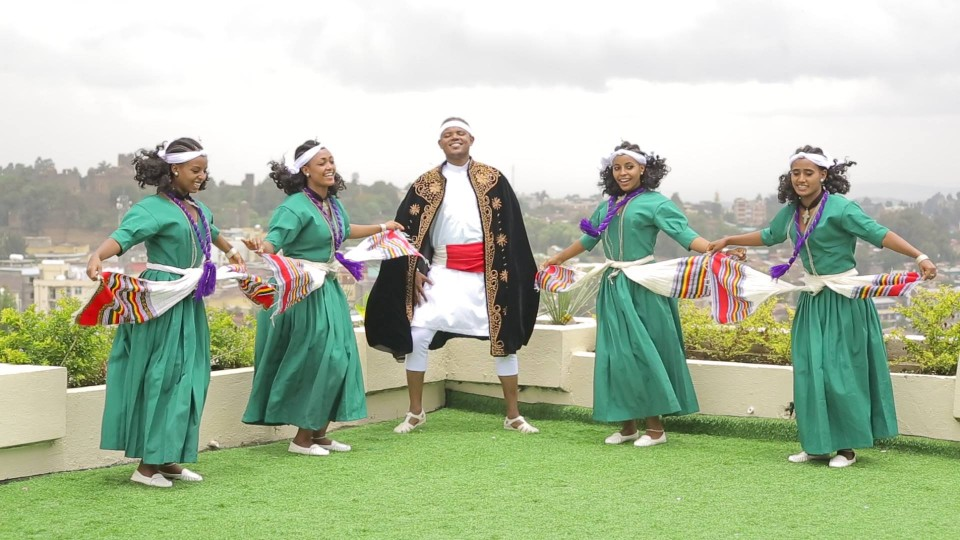 Yihune Belay's Traditional Dance