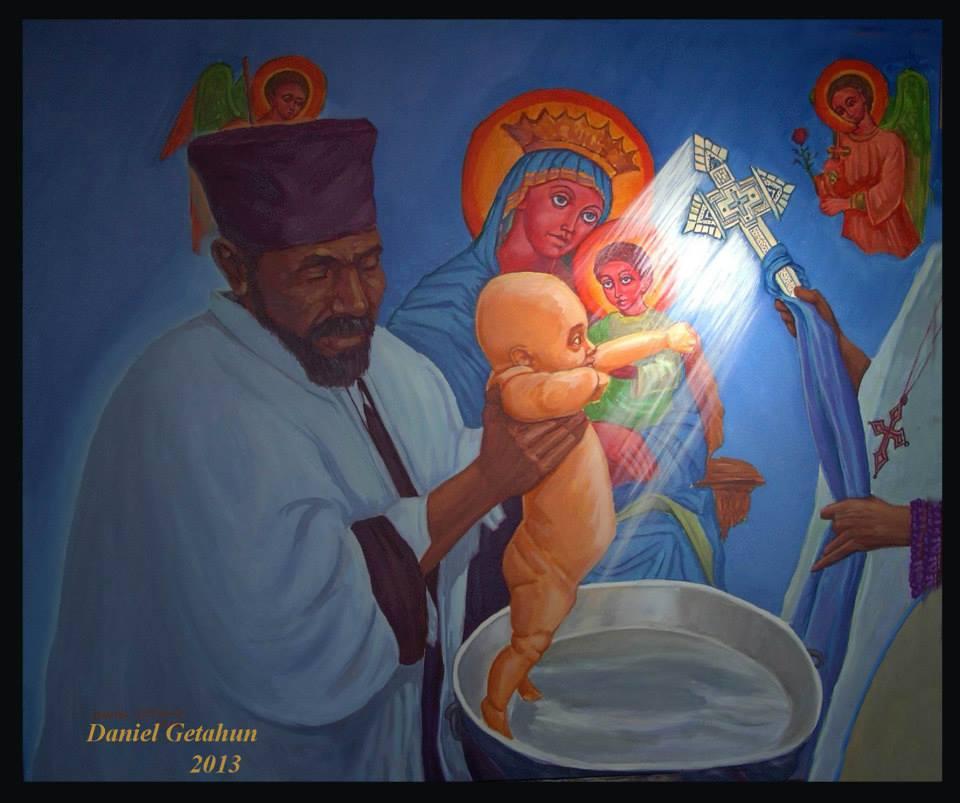 Baptising-Art
