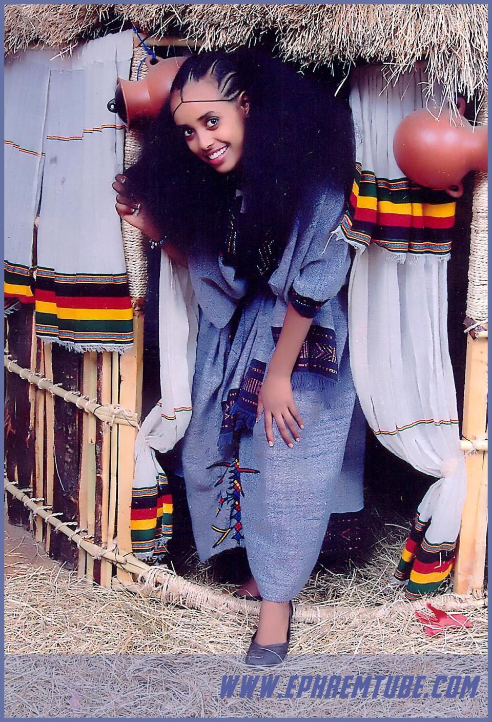 ethiopian traditional dress #08