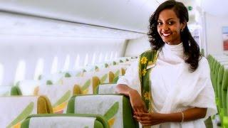 Amazing Ethiopian Airline flight from Shanghai & China to Addis Ababa_2017