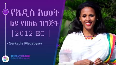 Special New Year program presented by Serkadis Megabyaw - 2012 EC  | Arts TV World